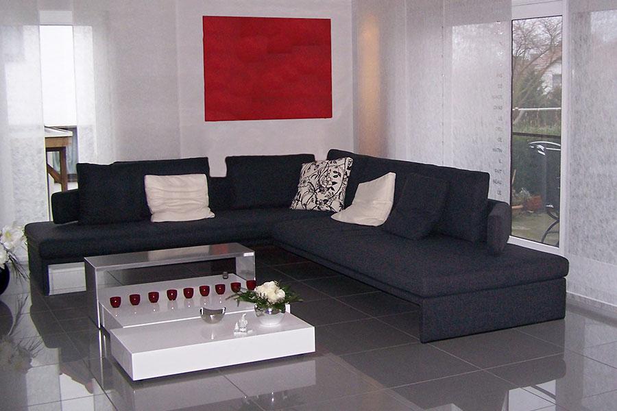 Sofa Vor Fenster belvano wohnbereich in vellmar
